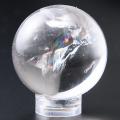 限定!特価!ヒマラヤ★ネパール産★レインボーガネッシュヒマール水晶 丸玉 32.6mmUP /4月