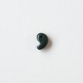 【伊勢浄化済み】貴重な出雲産 青めのう(碧石)勾玉 勾玉 約 12.1× 8.2mm  【C】   【パワーストーン,天然石】