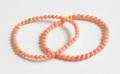 伊勢浄化済み!激安!天然モモイロ珊瑚 3.8~4.3mmブレスレット     /3月【パワーストーン,天然石】