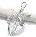 特価!限定!フレッシュパワー!ハーキマーダイヤモンドの大きめペンダント【パワーストーン/天然石】