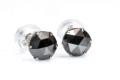最安値!ブラックダイアモンド(ダイヤモンド)AAAのローズカット Pt900ピアス【ペア】  /4月【パワーストーン・天然石】