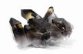 ツーソン2017☆特価!アーカンソー産黒水晶のクラスター  No.3     【天然石・パワーストーン】