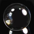 【ミニ鑑別書付】限定!ブラジル産水晶のロッククリスタル18mm丸玉/4月   【天然石・パワーストーン】