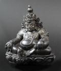 日本初入荷!ネパール ヒマラヤ産★サリグラム アンモナイト クベーラ(毘沙門天=びしゃもんてん)