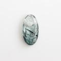 【新春特価!】伊勢浄化済み!ザギマウンテン産 リーベカイト入り水晶の大珠  28.8×14.9mm    【3】