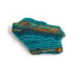 ツーソン2020!アリゾナ産クリソコラのスライス  40×26.5mm 【2】         【天然石・パワーストーン】