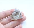 【1Day特価!】高品質!ブランドバーグ産 水入りアメジストポリッシュ  No.2   【パワーストーン/天然石】