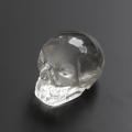 ツーソン2020!限定!ブラジル産水晶のスカル置物  52×41mm   No.2    【天然石・パワーストーン】