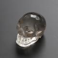 ツーソン2020!限定!ブラジル産水晶のスカル置物   45×55mm   No.3    【天然石・パワーストーン】