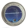 世界限定2000個!珍品!ロシア・チェリャビンスク隕石メダル【パワーストーン/天然石】za