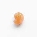 【伊勢浄化済み!】ロット鑑別済☆赤水晶(クォーツァイト)勾玉   約10×15mm前後   No.4