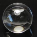【鑑別書付】限定!ブラジル産水晶のロッククリスタル27.5mm丸玉/4月【パワーストーン・天然石】