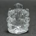 在庫限り!インド産☆ヒマラヤ水晶のガネーシャ    /4月 【天然石・パワーストーン】