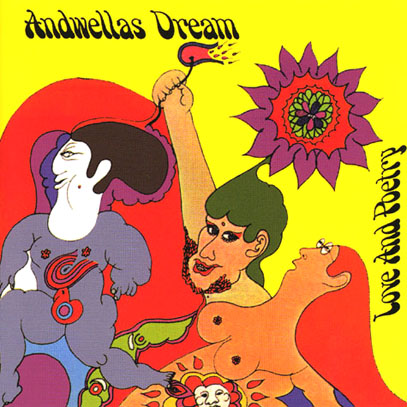 ANDWELLAS DREAM/Love And Poetry (1969/only) (アンドウェラズ・ドリーム/UK)