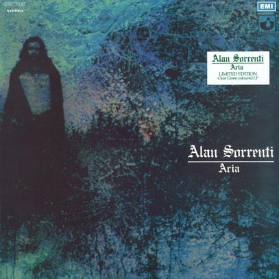 ALAN SORRENTI/Aria(Clear Green Coloured Vinyl LP) (1972/1st) (アラン・ソレンティ/Italy)
