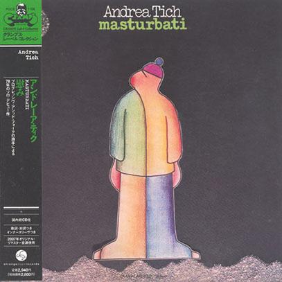 ANDREA TICH/Masturbati(慰み)(Used CD) (1978/1st) (アンドレア・ティク/Italy)