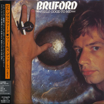 BILL BRUFORD/Feels Good To Me(フィールズ・グッド・トゥ・ミー) (1977/only) (ビル・ブラフォード/UK)