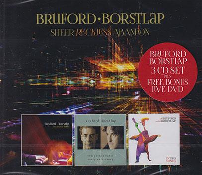 BRUFORD-BORSTLAP/Sheer Reckless Abandon(3CD+DVD BOX) (2002-07/1-3th) (ブルーフォード&ボルストラップ/UK,Holland)