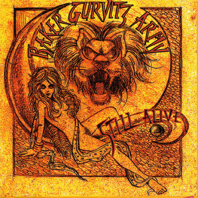 BAKER GURVITZ ARMY/Still Alive (1975+76/Live/2CD+DVD) (ベイカー・ガーヴィッツ・アーミー/UK)