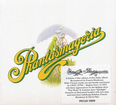 CURVED AIR/Phantasmagoria: Deluxe CD+DVD Edition (1972/3rd) (カーヴド・エア/UK)