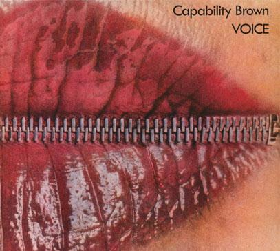 CAPABILITY BROWN/Voice (1973/2nd) (キャパビリティ・ブラウン/UK)