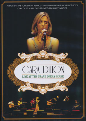 CARA DILLON/Live At The Grand Opera House (2010/DVD) (カーラ・ディロン/Ireland)