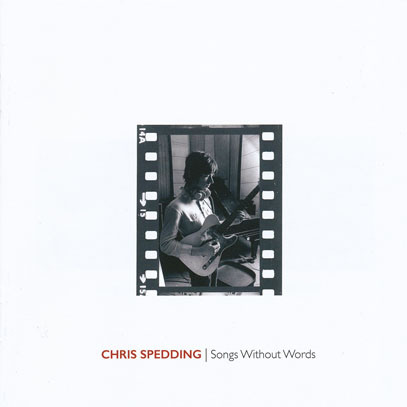 CHRIS SPEDDING/Songs Without Words (1970/Japan Only) (クリス・スペディング/UK)