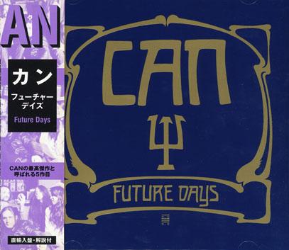 CAN/Future Days(フューチャー・デイズ)(Used CD) (1973/5th) (カン/German)