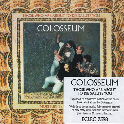 COLOSSEUM/Those Who Are About To Die Salute You (1969/1st) (コロシアム/UK)