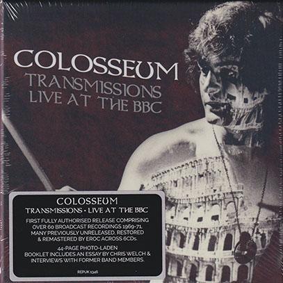 COLOSSEUM/Transmission: Live At The BBC(6CD BOX) (1969-71/Live) (コロシアム/UK)