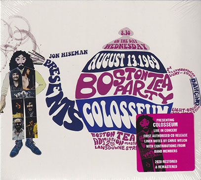 COLOSSEUM/Live At The Boston Tea Party 1969 (1969/Live) (コロシアム/UK)