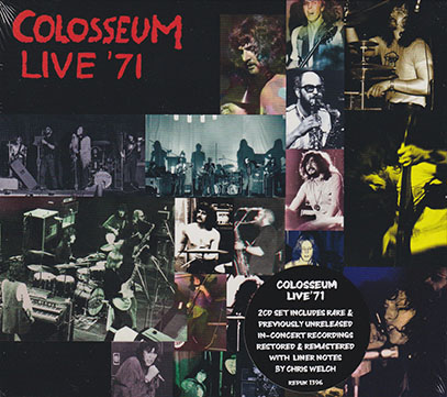 COLOSSEUM/Live '71: Canterbury Brighton & Manchester(2CD) (1971/Live) (コロシアム/UK)