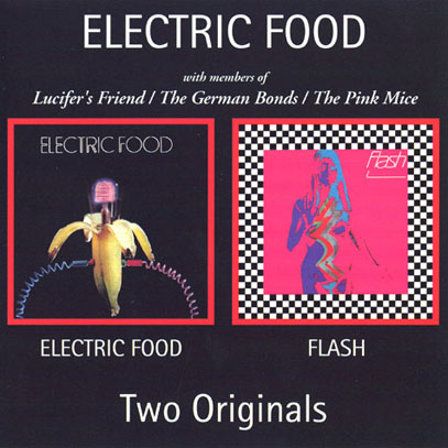 ELECTRIC FOOD/Same + Flash (1970+71/1+2th) (エレクトリック・フード/German)