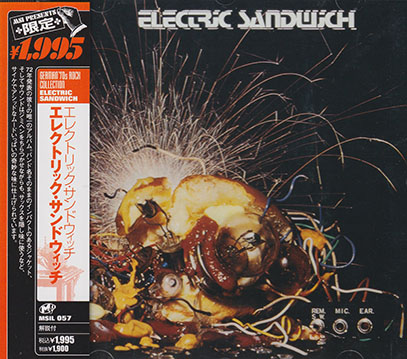 ELECTRIC SANDWICH/Same(エレクトリック・サンドウィッチ)(Used CD) (1972/only) (エレクトリック・サンドウィッチ/German)