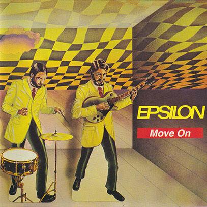 EPSILON/Move On(Used CD) (1971/2nd) (イプシロン/German)