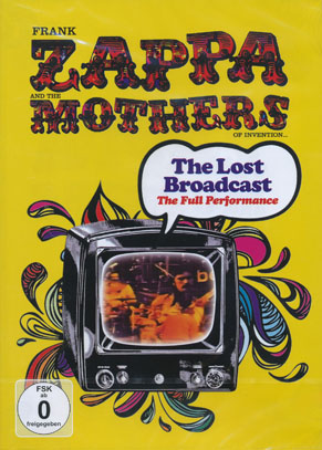 FRANK ZAPPA & THE MOTHERS OF INVENTION/Lost Broadcast: Beat Club 1968 (1970/DVD) (フランク・ザッパ&ザ・マザーズ〜/USA)