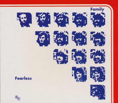 FAMILY/Fearless (1971/5th) (ファミリー/UK)