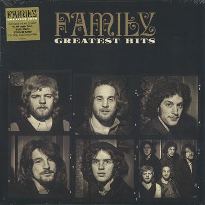 FAMILY/Greatest Hits(Cream Colour LP) (1969-73/Comp.) (ファミリー/UK)