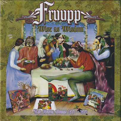 FRUUPP/Wise As Wisdom: The Dawn Albums 1973-1975(4CD Box) (1973-75/Comp.) (フループ/UK)