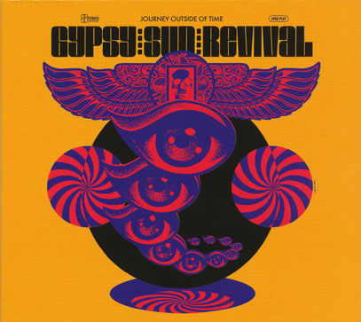 GYPSY SUN REVIVAL/Journey Outside Of Time (2017/2nd) (ジプシー・サン・リヴァイヴァル/USA)