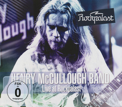 HENRY McCULLOUGH BAND/Live At Rockpalast (1976/DVD+CD) (ヘンリー・マッカロク・バンド/UK)