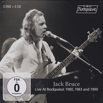 JACK BRUCE/Live At Rockpalast 1980+1983+1990(2DVD+5CD) (1980+83+90/Live) (ジャック・ブルース/UK)