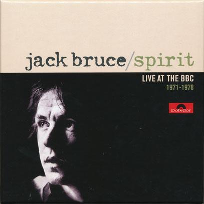 JACK BRUCE/Spirit: Live At The BBC 1971-1978(3CD BOX) (1971-78/Live) (ジャック・ブルース/UK)