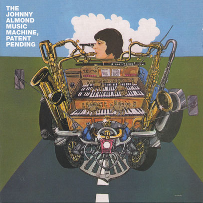 THE JOHNNY ALMOND MUSIC MACHINE/Patent Pending (1969/1st) (ザ・ジョニー・アーモンド・ミュージック・マシーン/UK)