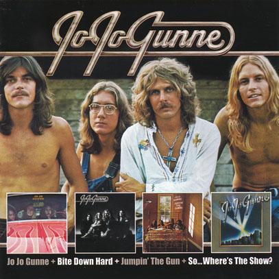 JO JO GUNNE/Same+Bite Down Hard+Jumpin The Gun+So...Where's The Show?(Used 2CD) (1972-74/1-4th) (ジョ・ジョ・ガン/USA)
