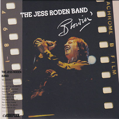 THE JESS RODEN BAND/Blowin' (1977/Live) (ザ・ジェス・ローデン・バンド/UK)