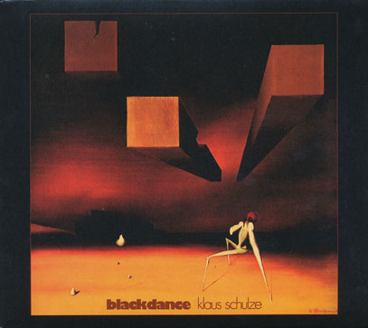 KLAUS SCHULZE/Black Dance (1974/4th) (クラウス・シュルツェ/German)