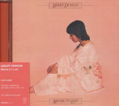 LESLEY DUNCAN/Maybe It's Lost(メイビー・イッツ・ロスト) (1977/5th) (レズリー・ダンカン/UK)