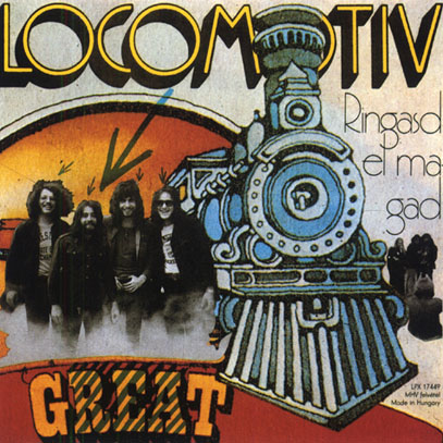 LOCOMOTIV GT/Ringasd El Magad (1972/2nd) (ロコモティヴ GT/Hungary)