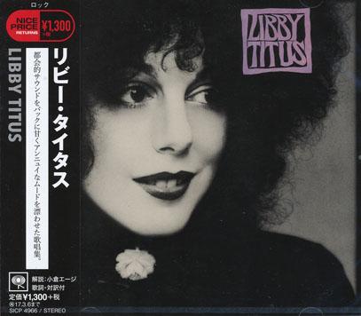 LIBBY TITUS/Same (1977/2nd) (リビー・タイタス/USA)